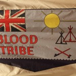 Blood Tribe Flag